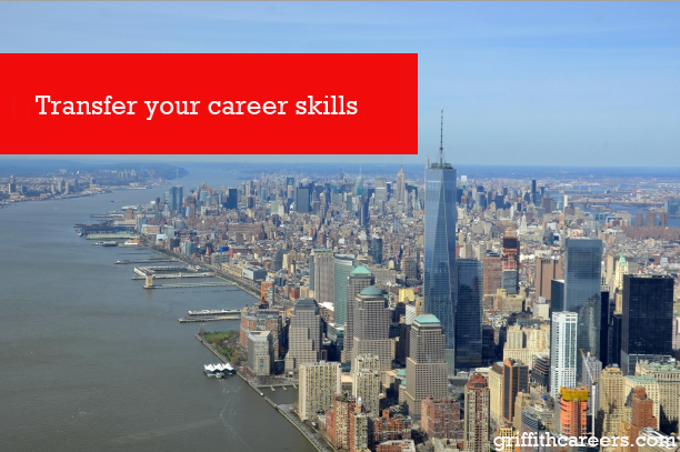 Transfer your career skills
