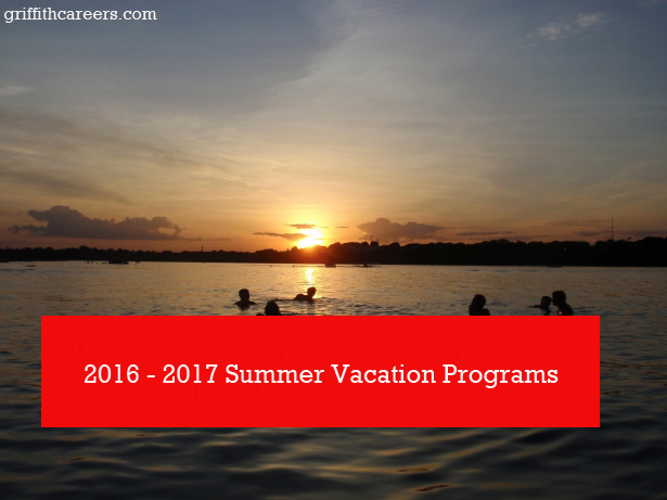 Summer Vacation Programs