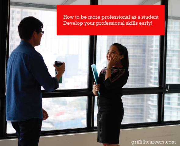How to be more professional as a student